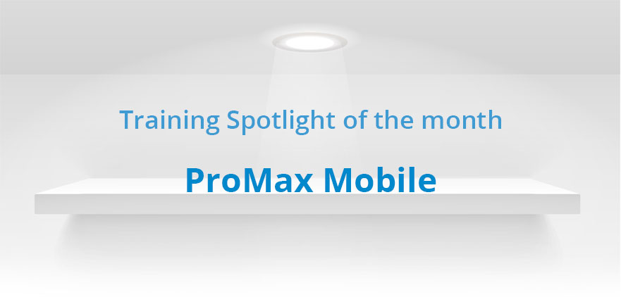 online training with ProMax