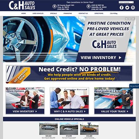 Design Gallery for Car Dealership Websites   PromaxUnlimited.com