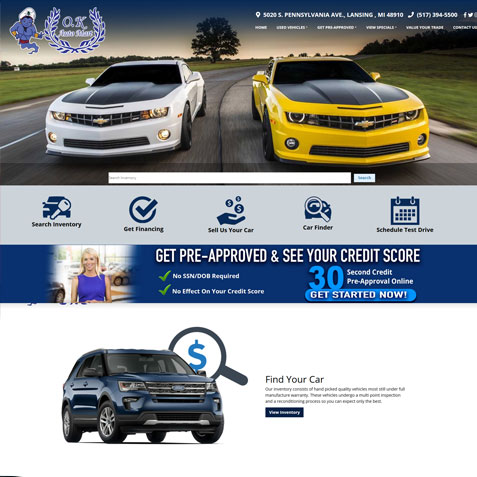 design gallery for car dealership websites promaxunlimited com design gallery for car dealership